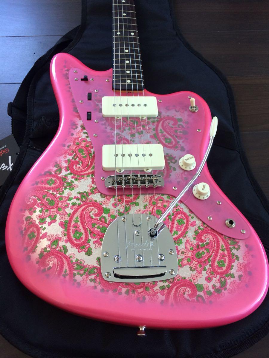 美品 FenderJapan Traditional 60s Jazzmaster Pink Paisley