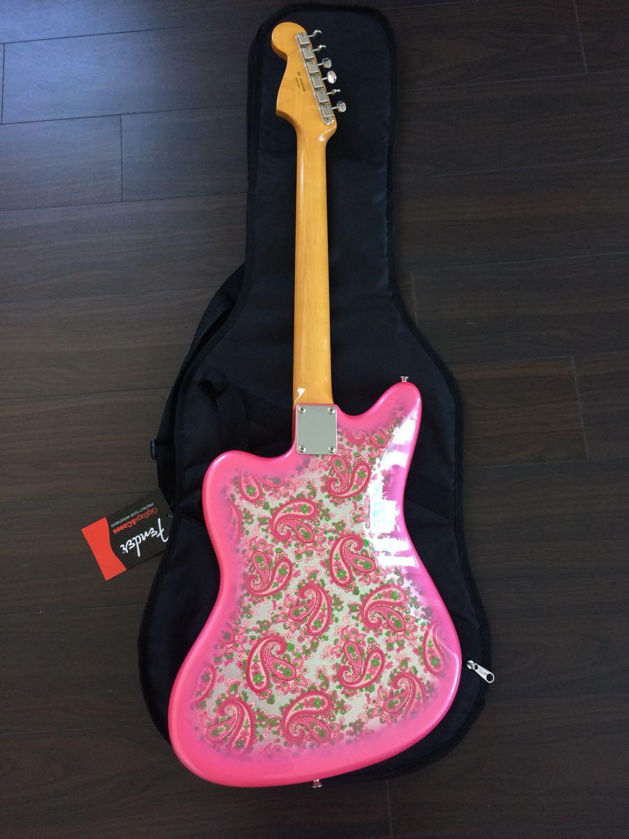 美品 FenderJapan Traditional 60s Jazzmaster Pink Paisley_画像3
