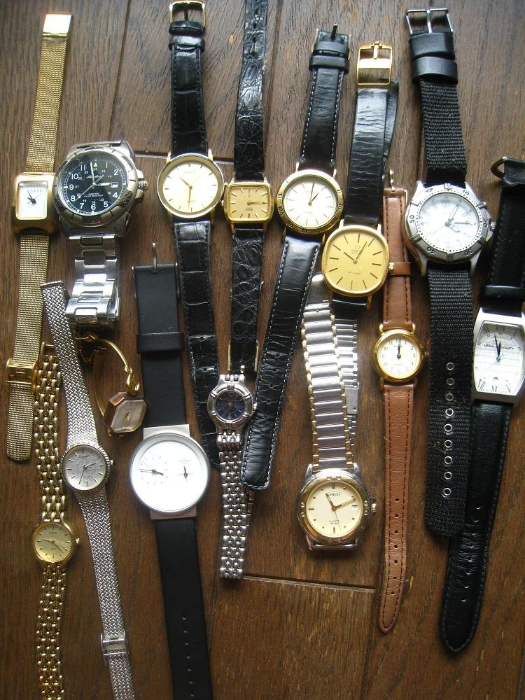 ジャンク 腕時計 15点 まとめて セイコー シチズン オメガなど