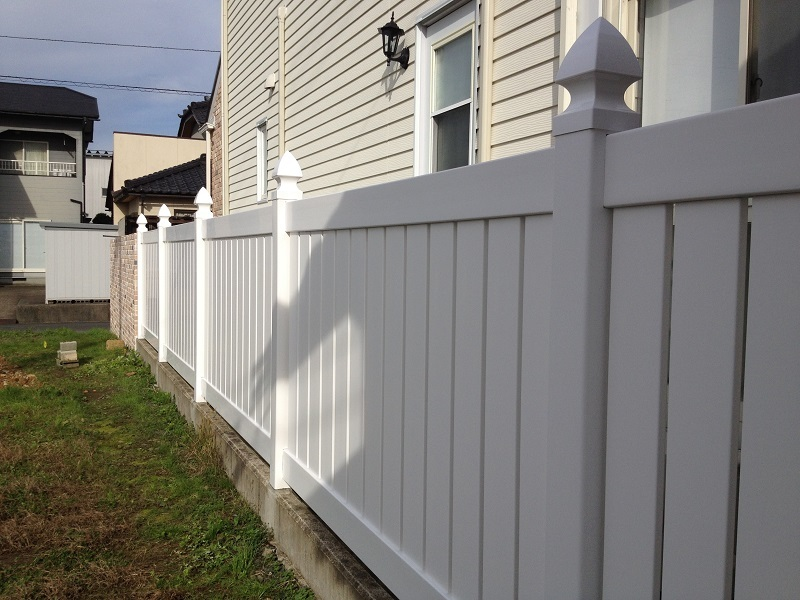 vinyl fence resin fence eyes .. fence semi privacy fence SP-5