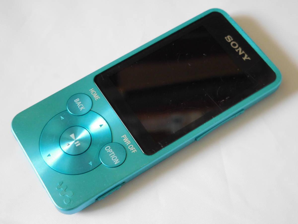 ☆訳あり☆ SONY ウォークマン NW-S13 ブルー Sシリーズ 4GB Bluetooth対応 送料無料