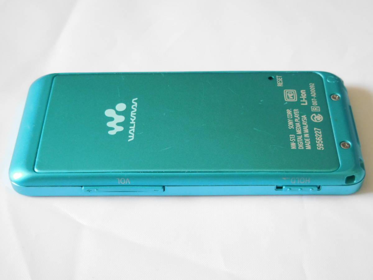 ☆訳あり☆ SONY ウォークマン NW-S13 ブルー Sシリーズ 4GB Bluetooth対応 送料無料_画像5