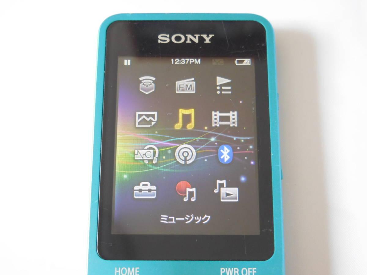 ☆訳あり☆ SONY ウォークマン NW-S13 ブルー Sシリーズ 4GB Bluetooth対応 送料無料_画像6