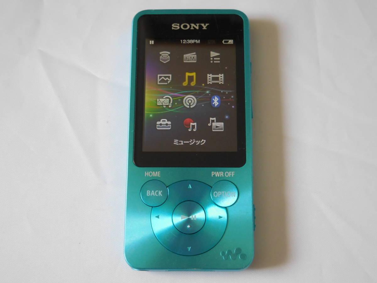 ☆訳あり☆ SONY ウォークマン NW-S13 ブルー Sシリーズ 4GB Bluetooth対応 送料無料_画像7