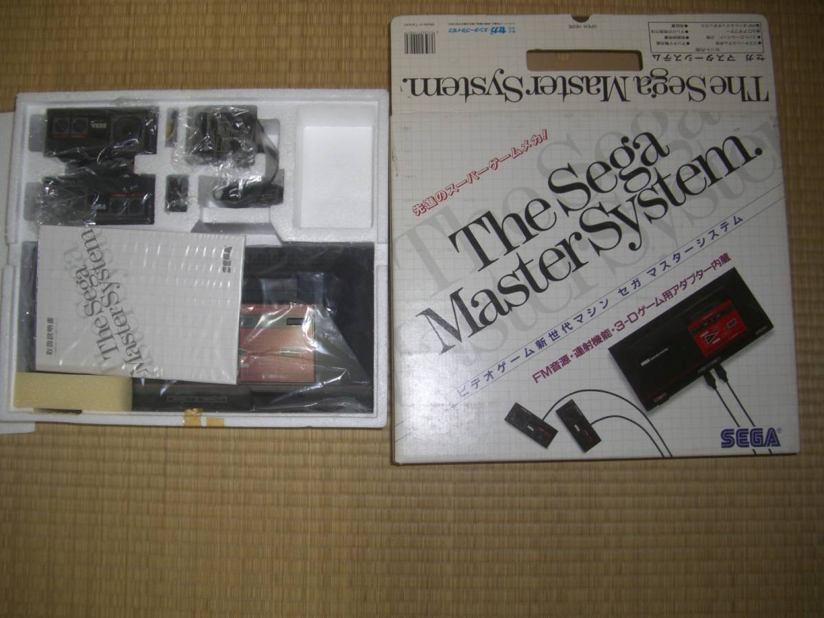 未使用品!★セガ マスターシステム本体 MK-2000★SEGA Master System Console