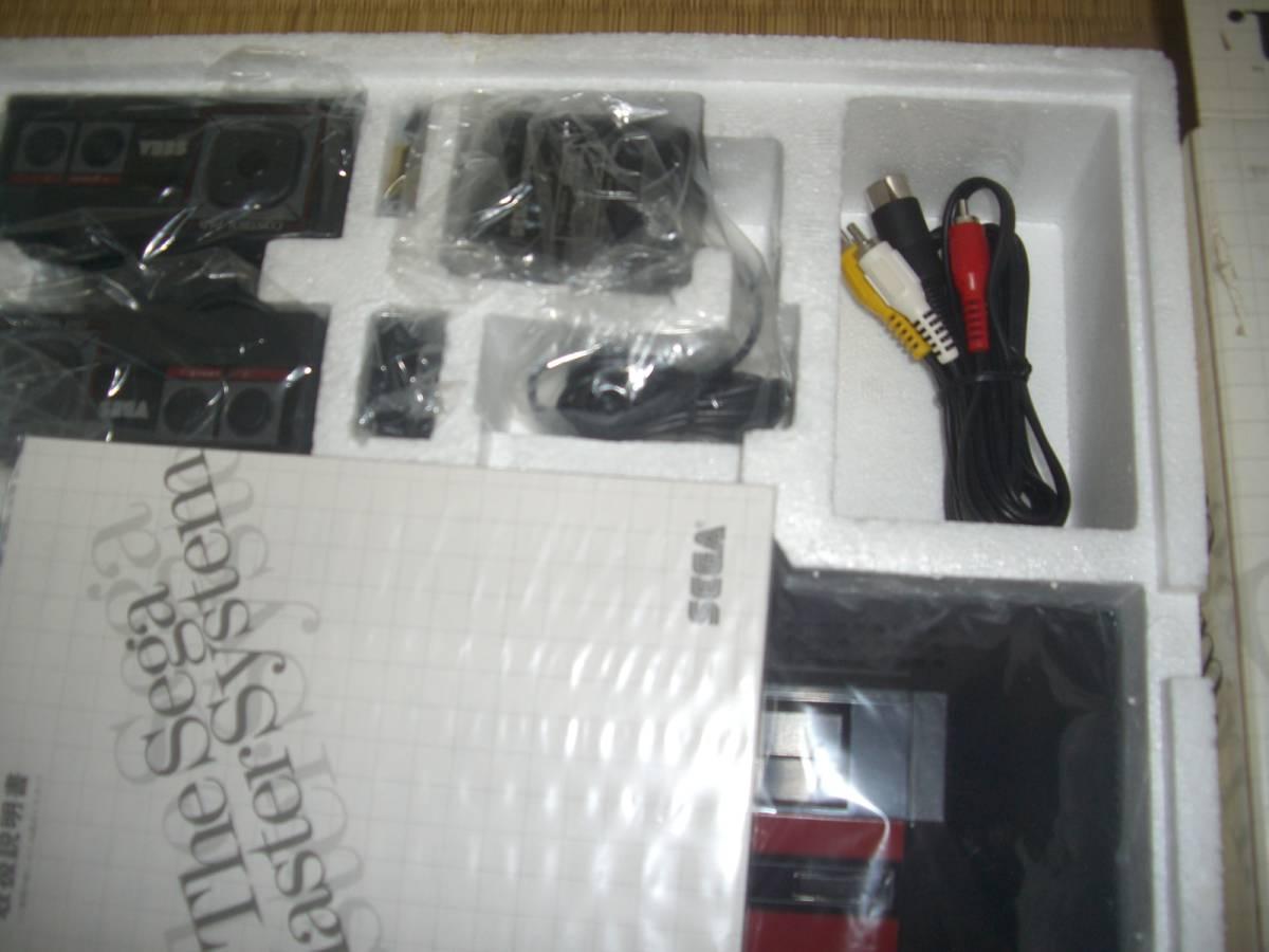 未使用品!★セガ マスターシステム本体 MK-2000★SEGA Master System Console_画像3