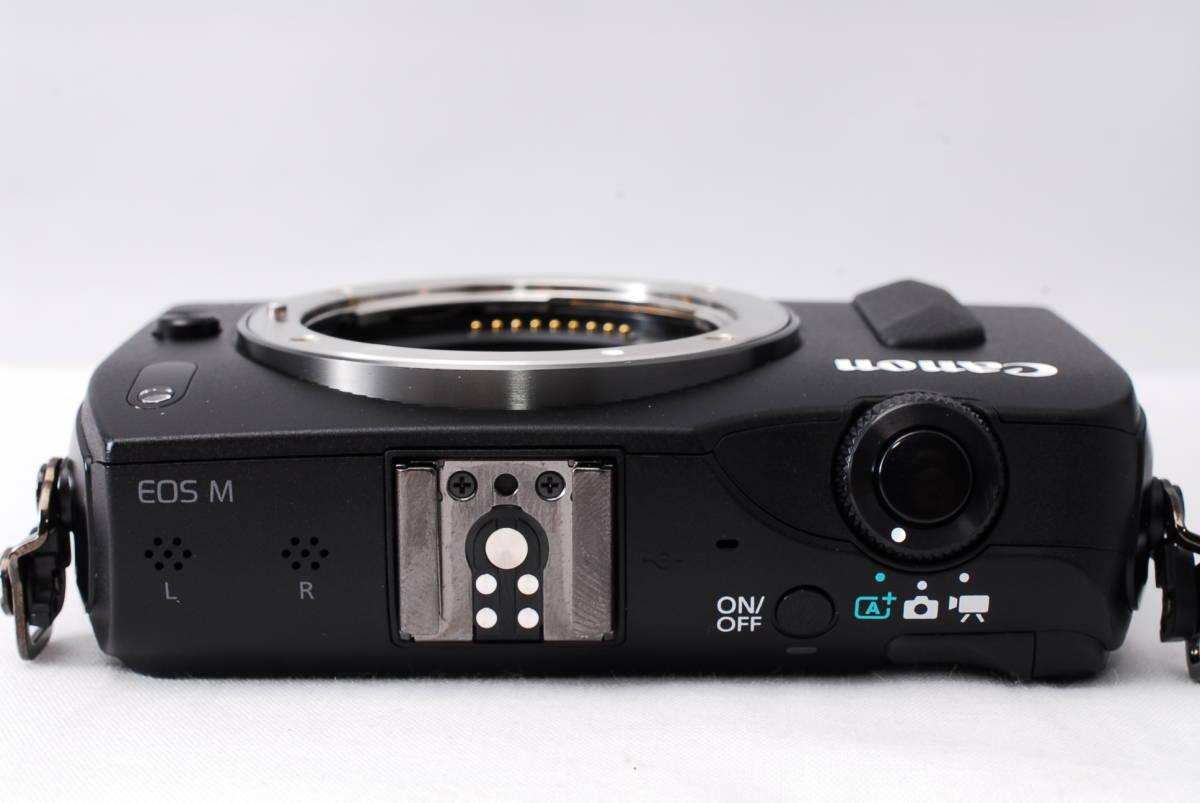 ★新品級★Canon キヤノン EOS M EF-S 18-55mm STM レンズセット!! 16G SDカードつき 届いたその日から撮影可能です!!_画像5
