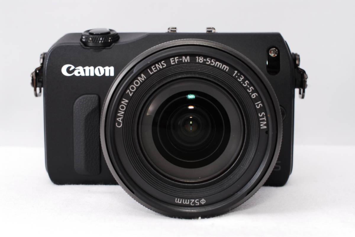 ★新品級★Canon キヤノン EOS M EF-S 18-55mm STM レンズセット!! 16G SDカードつき 届いたその日から撮影可能です!!_画像8