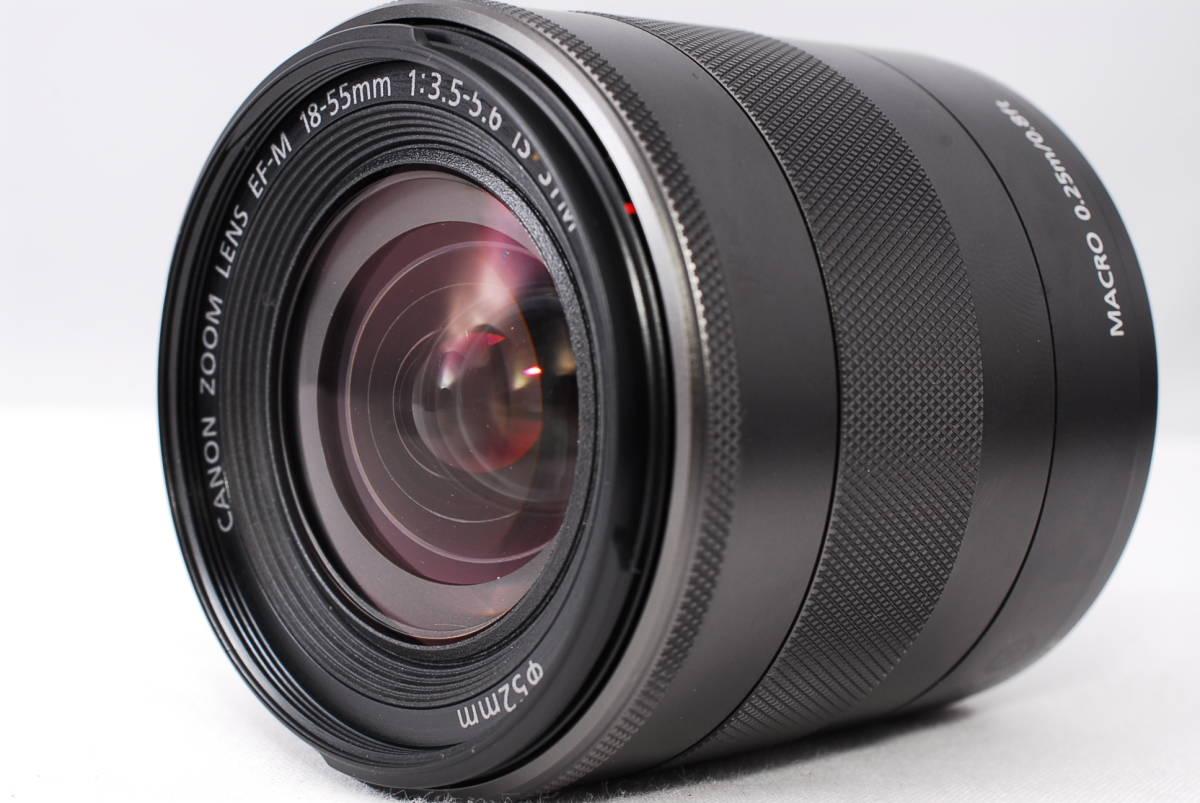 ★新品級★Canon キヤノン EOS M EF-S 18-55mm STM レンズセット!! 16G SDカードつき 届いたその日から撮影可能です!!_画像9