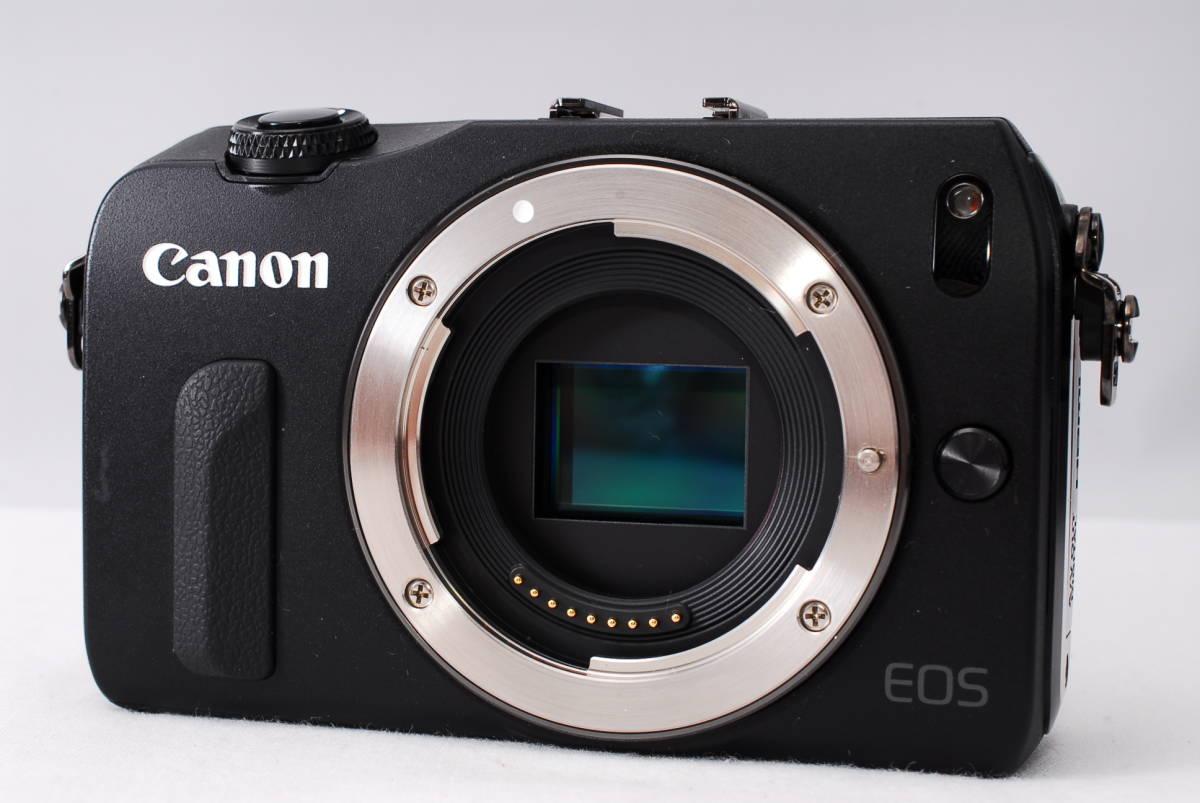 ★新品級★Canon キヤノン EOS M EF-S 18-55mm STM レンズセット!! 16G SDカードつき 届いたその日から撮影可能です!!_画像4