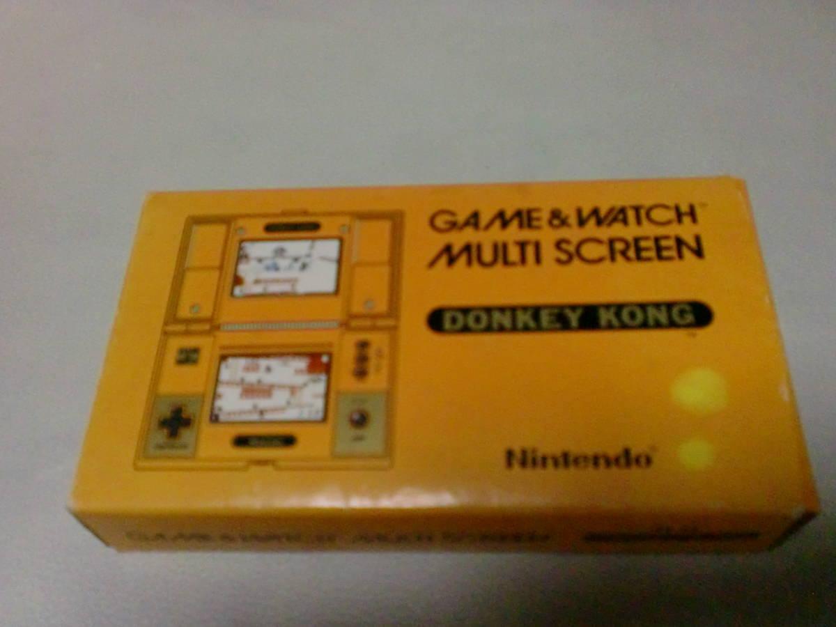 ゲームウォッチ DONKEY KONG