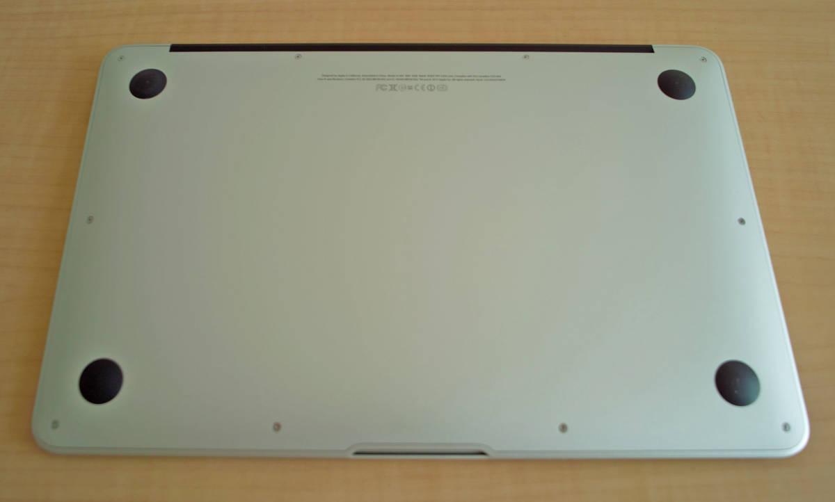 美品!MacBookAir(11-inch,Mid 2012) 1.7GHz intel Core i5 5GB SSD60GB 充放電少 + おまけUSB_画像5