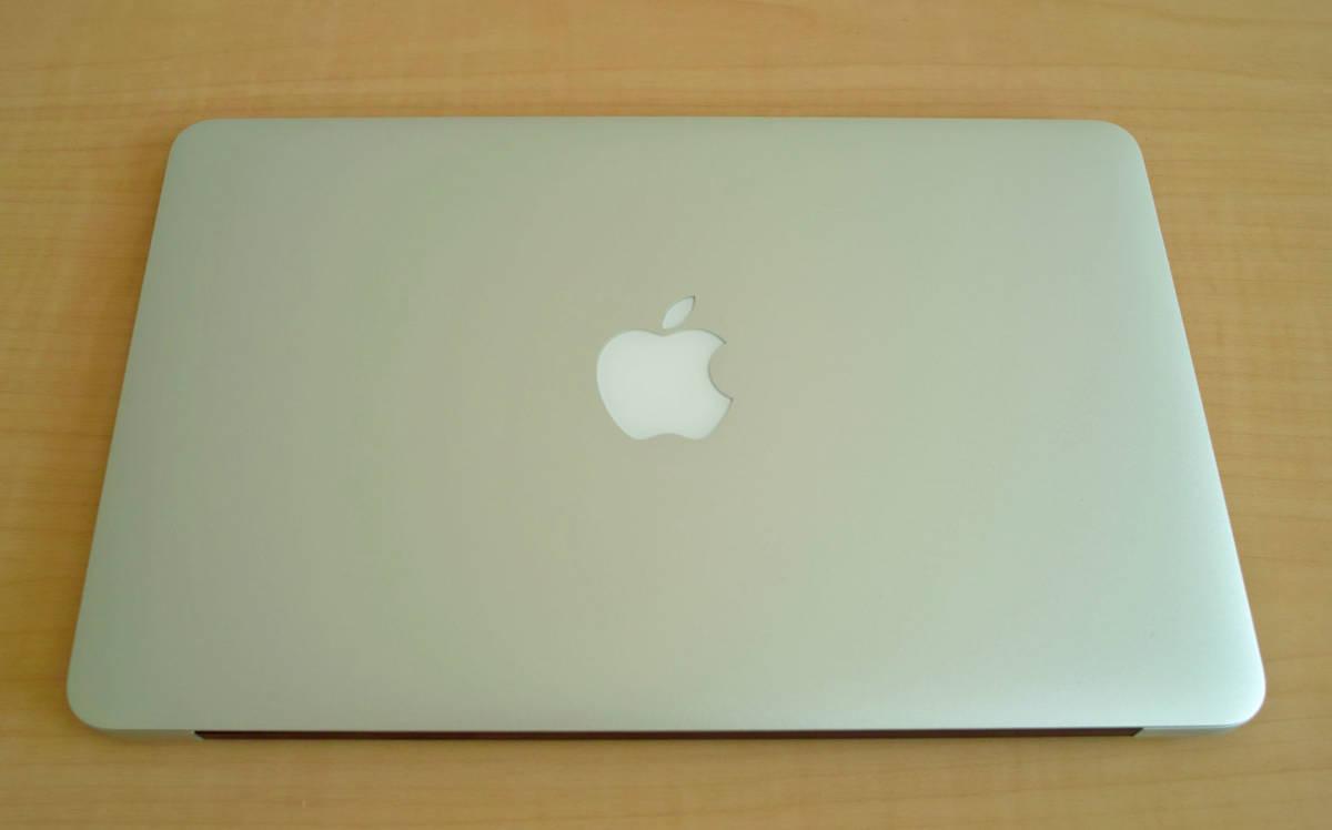 美品!MacBookAir(11-inch,Mid 2012) 1.7GHz intel Core i5 5GB SSD60GB 充放電少 + おまけUSB_画像4