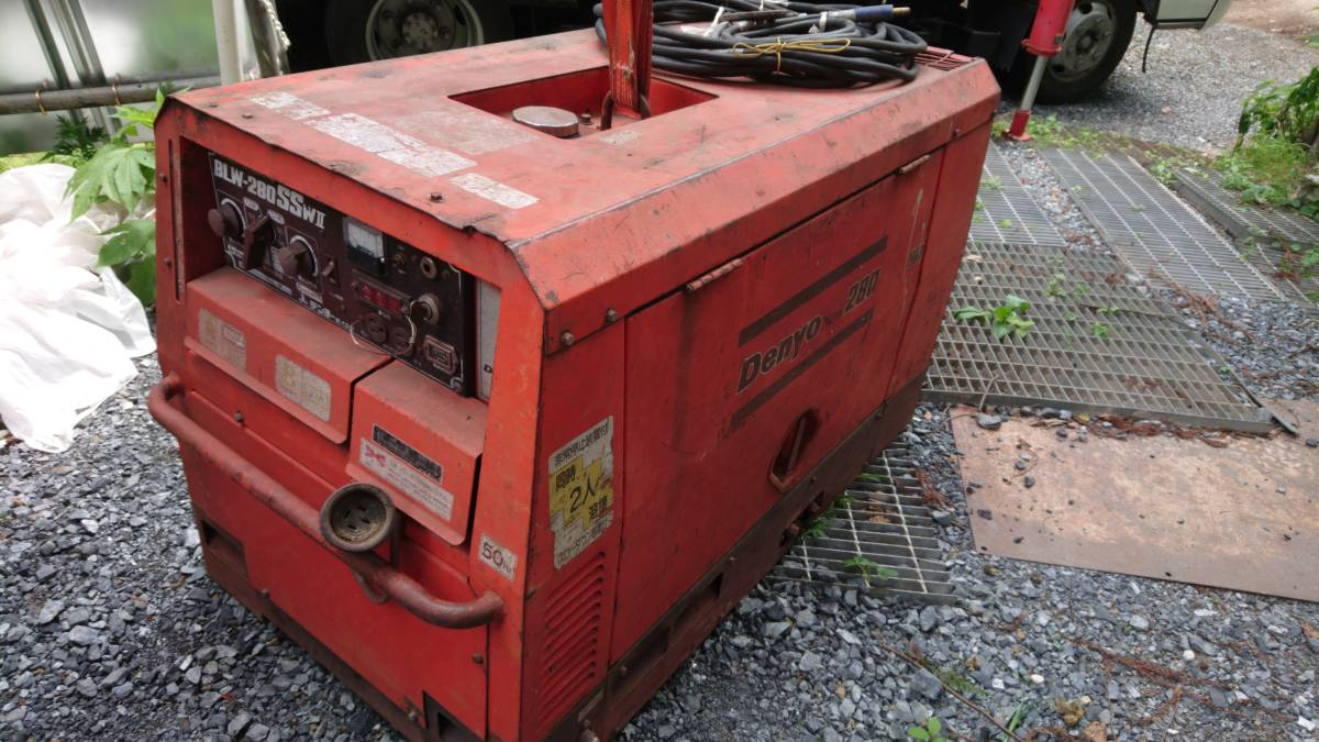 Denyo Denyo soundproofing type engine welding BLW-280SSWⅡ diesel