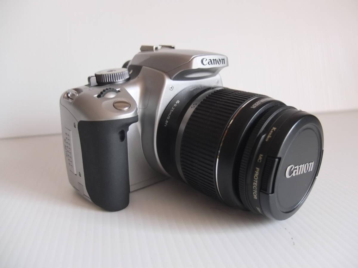 ■ Canon EOS Kiss Digital X 18-55 IS キャノン デジタル一眼レフカメラ レンズセット (N(0799)