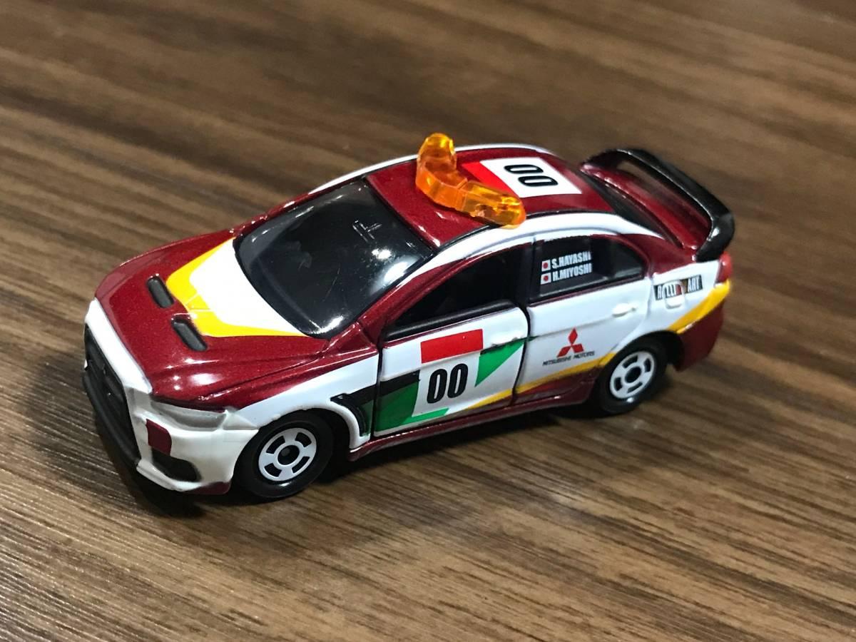 トミカ ラリーカー コレクション JAPAN 6種フルコンプ ランサーエボリューションX インプレッサWRX STI_画像5