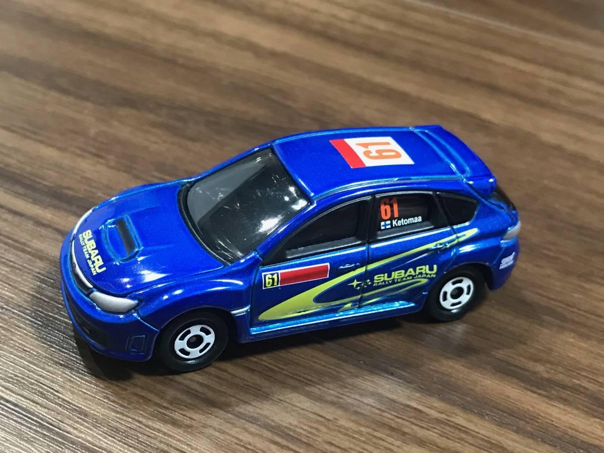 トミカ ラリーカー コレクション JAPAN 6種フルコンプ ランサーエボリューションX インプレッサWRX STI_画像3