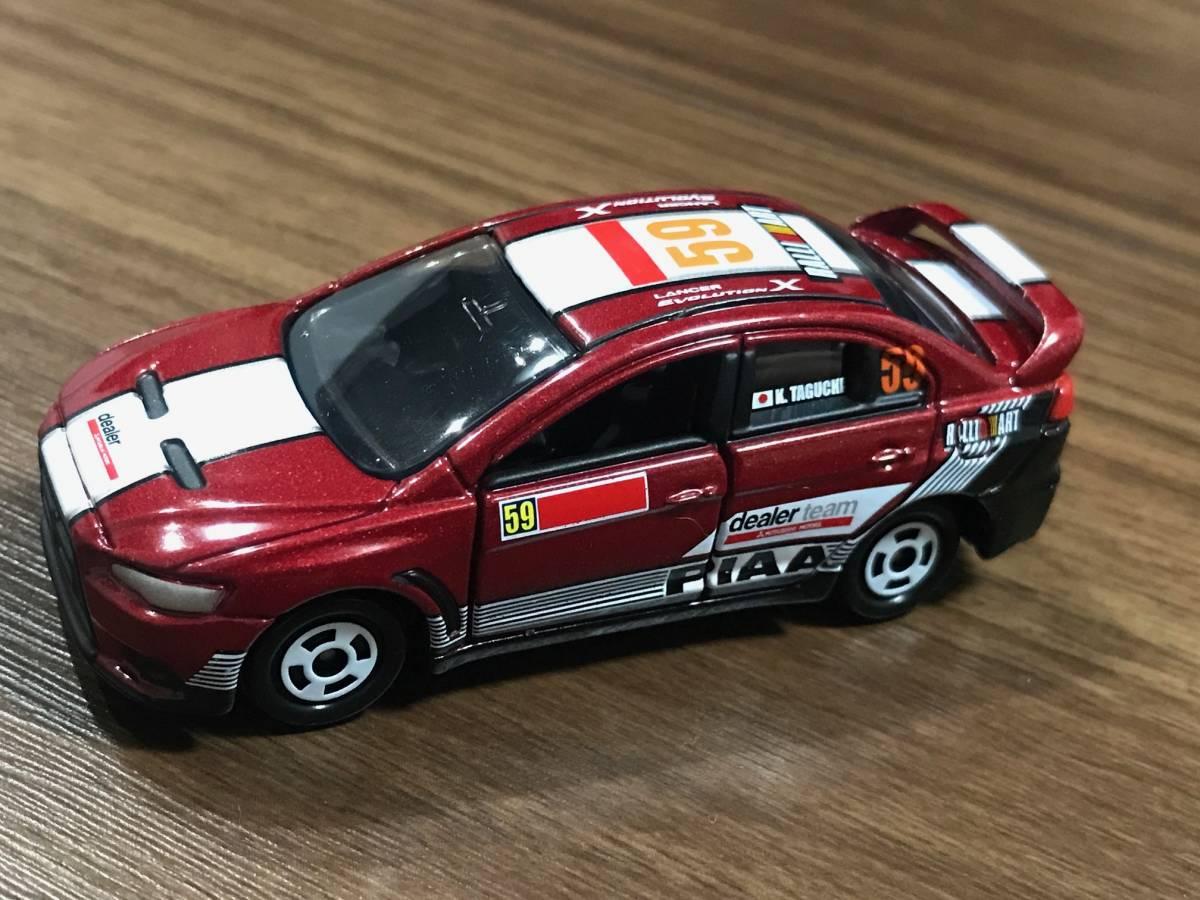トミカ ラリーカー コレクション JAPAN 6種フルコンプ ランサーエボリューションX インプレッサWRX STI_画像7