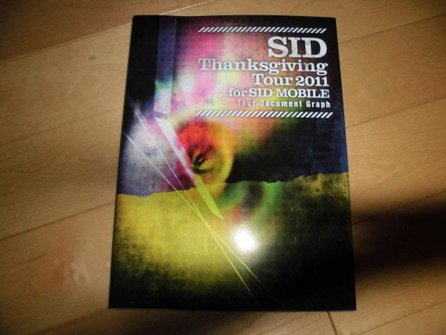 写真集//SID/シド//Thanksgiving Tour 2011 for SID MOBILE Tour Document Graph//ツアードキュメント_画像1