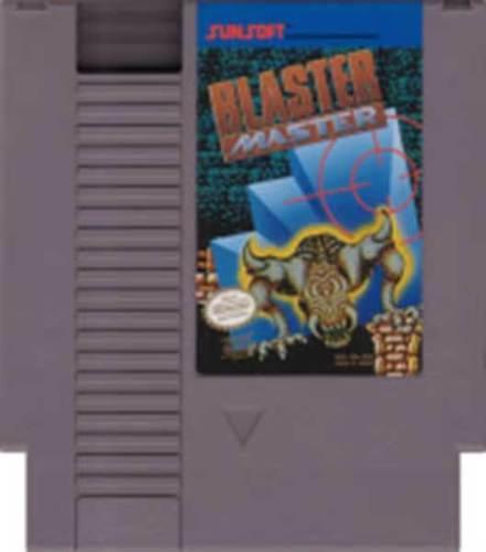 海外限定版 海外版 ファミコン ブラスターマスター Blaster Master NES_画像1