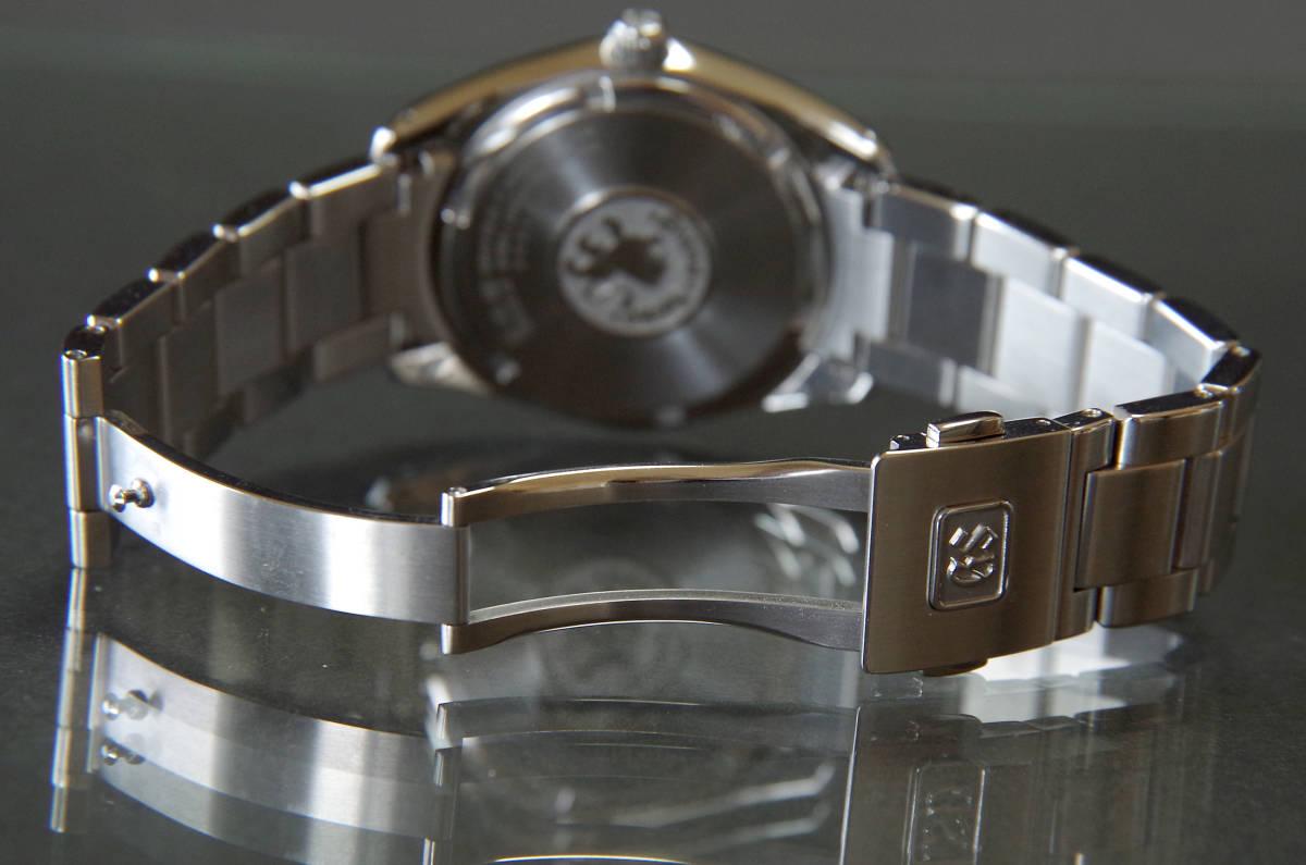 グランドセイコー SBGX063 GS美錠付セイコー製クロコ革バンド付き_画像5