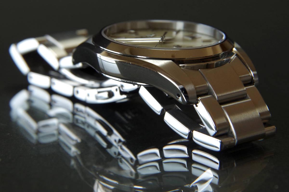 グランドセイコー SBGX063 GS美錠付セイコー製クロコ革バンド付き_画像7