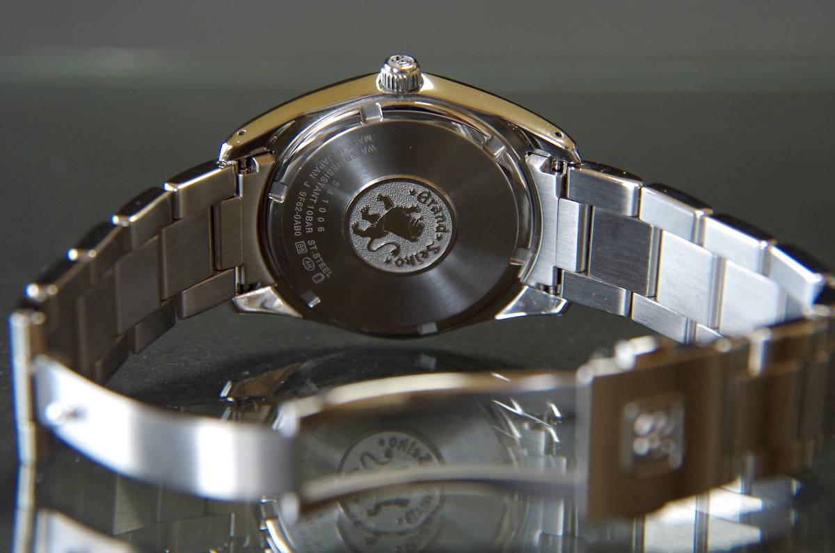 グランドセイコー SBGX063 GS美錠付セイコー製クロコ革バンド付き_画像6