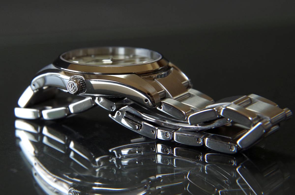 グランドセイコー SBGX063 GS美錠付セイコー製クロコ革バンド付き_画像8