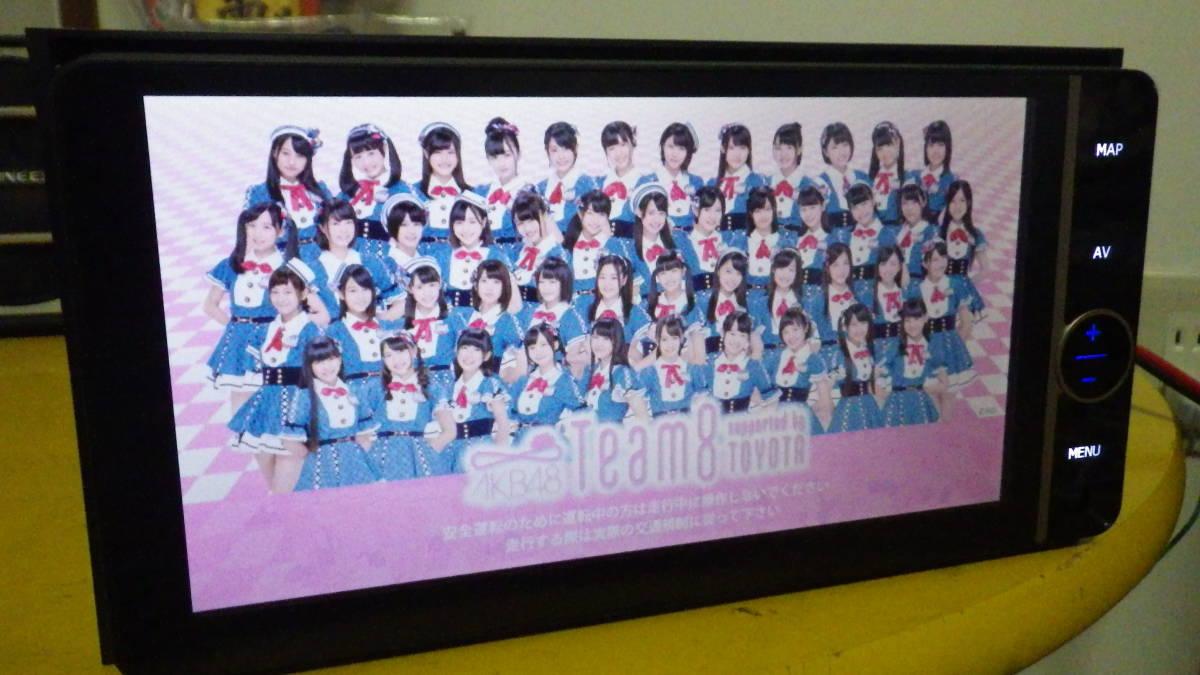 【売切】トヨタ純正AKB48モデル 2015年地図バージョン【NHZD-W62G】中古