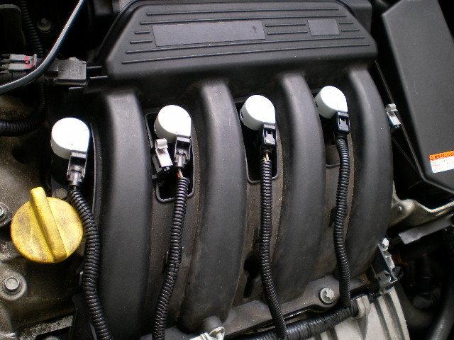 【カングー】ルノー KCK4M KWK4M K4M コイル 新品 長期テスト合格 OEM製 格安 送料込み 1本の価格_私の車に装着した写真 カッコイイ!