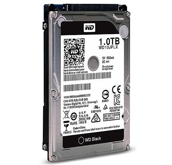 新品同様◆WD10JPLX◆31時間 2.5インチ 1TB 7200rpm 9.5mm SATA Western Digital