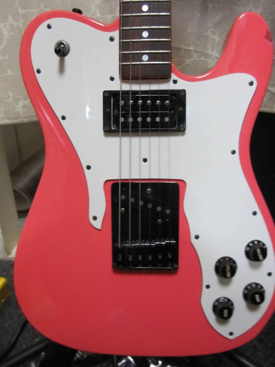Gee Crafts テレキャスターカスタム タイプ  Telecaster Custom Type 検索 フェンダー  Fender_センター2ピース。トグルスイッチ横向き。