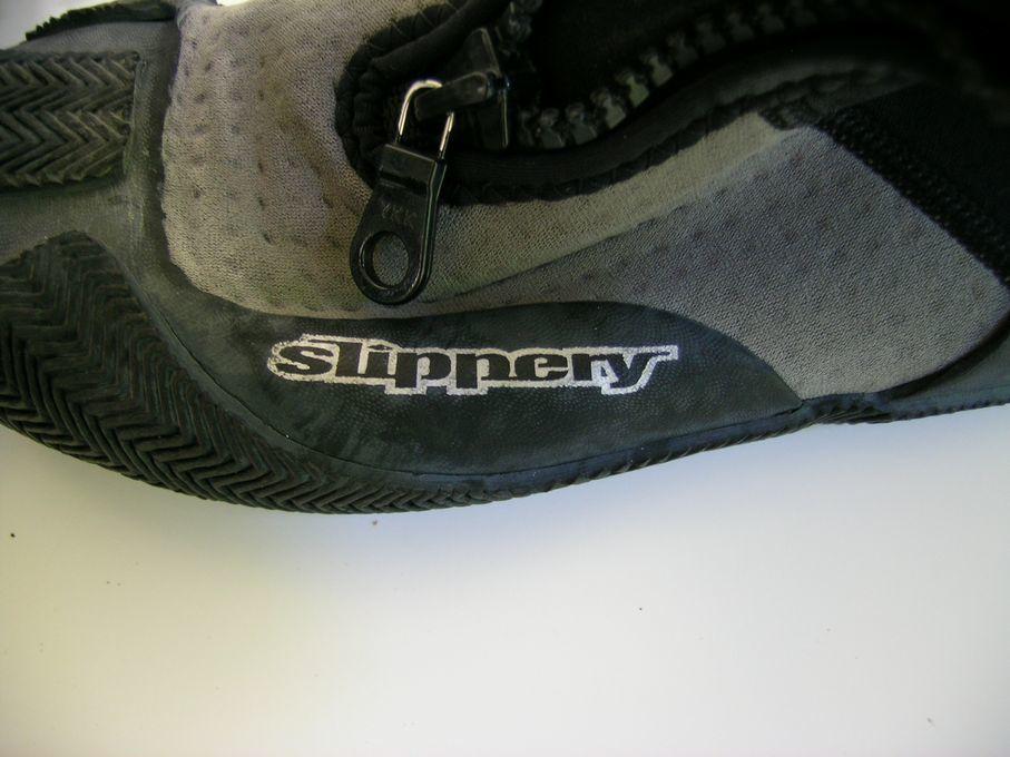Slippery/スリッパリー【サイフォンブーツ/マリンシューズ】フロントジッパー式(中古品)Mサイズ_画像5