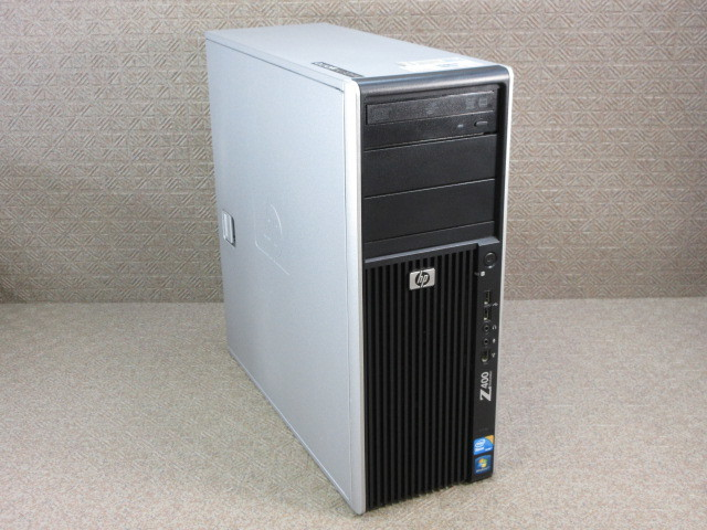 HP Z400 Workstation (VS933AV) / 4コア8スレッド Xeon W3520 2.66GHz / 4GB / Quadro 400 / No.C177
