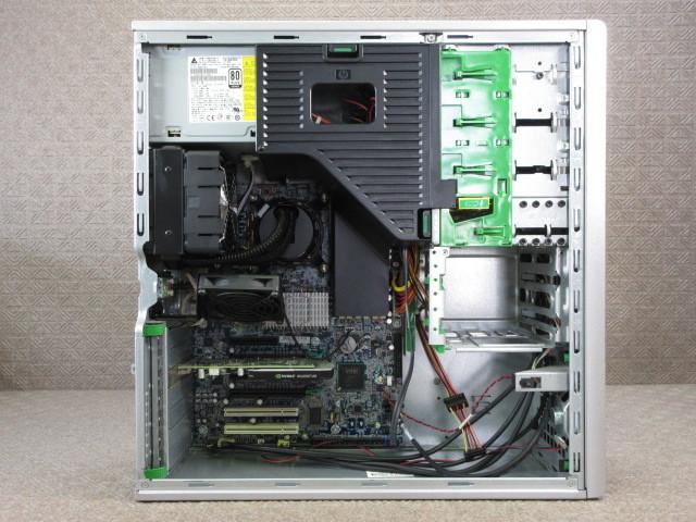 HP Z400 Workstation (VS933AV) / 4コア8スレッド Xeon W3520 2.66GHz / 4GB / Quadro 400 / No.C177_画像3