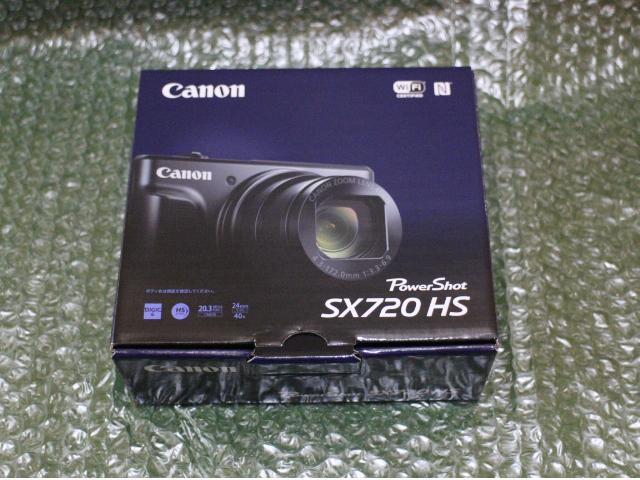【新品】CANON PowerShot SX720 HS ブラック デジカメ