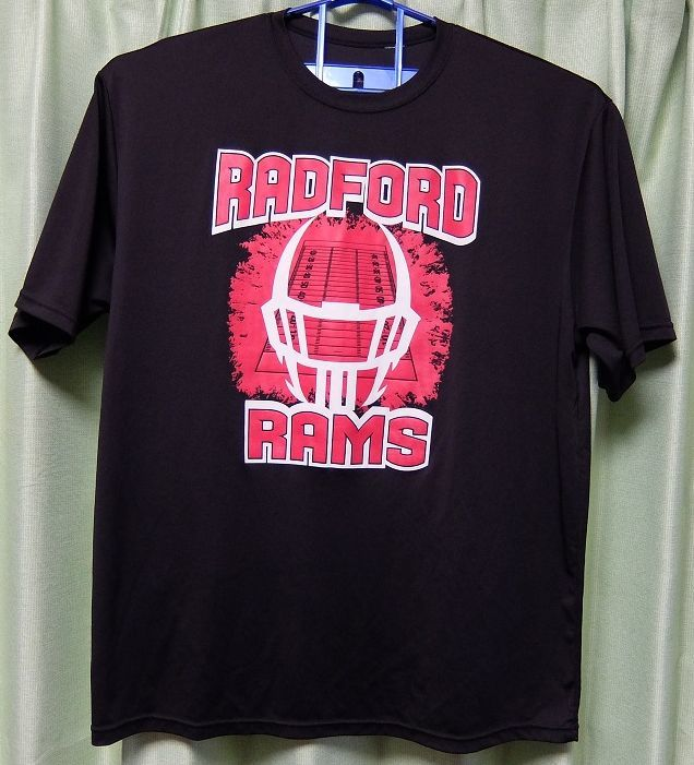A4 RADFORD RAMS 半袖Tシャツ XL位 ラドフォードハイスクール ラムズ 中古_画像1