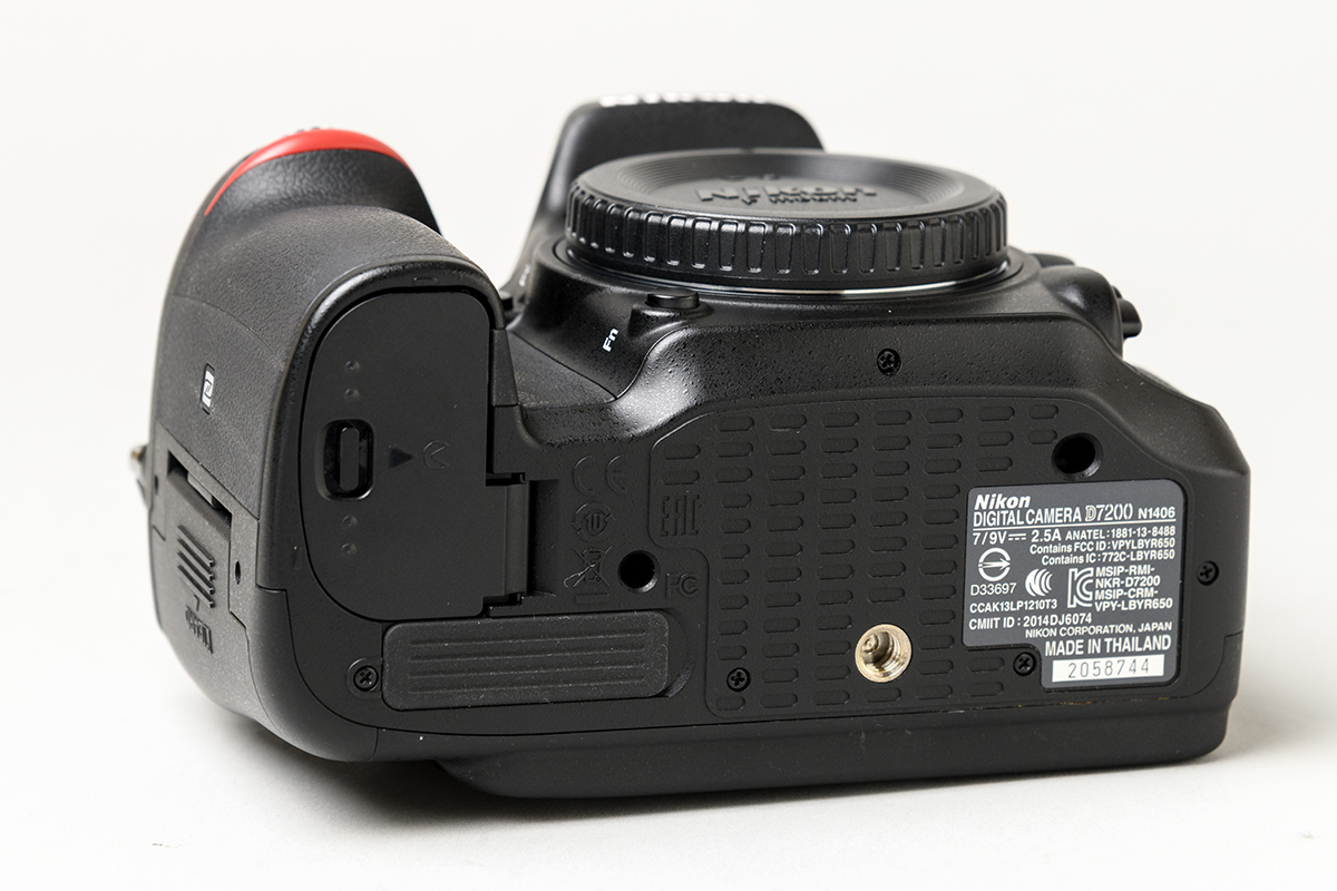 付属品未使用! Nikon D7200 メーカー保証残有 メーカー点検済 ニコン_画像7