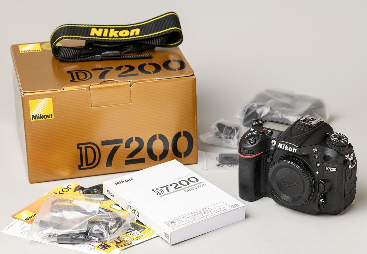 付属品未使用! Nikon D7200 メーカー保証残有 メーカー点検済 ニコン