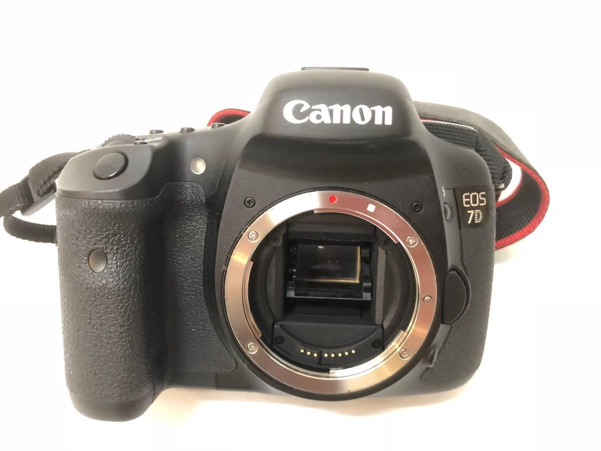 #3583【Canon】EOS7D ブラック ボディ 美品