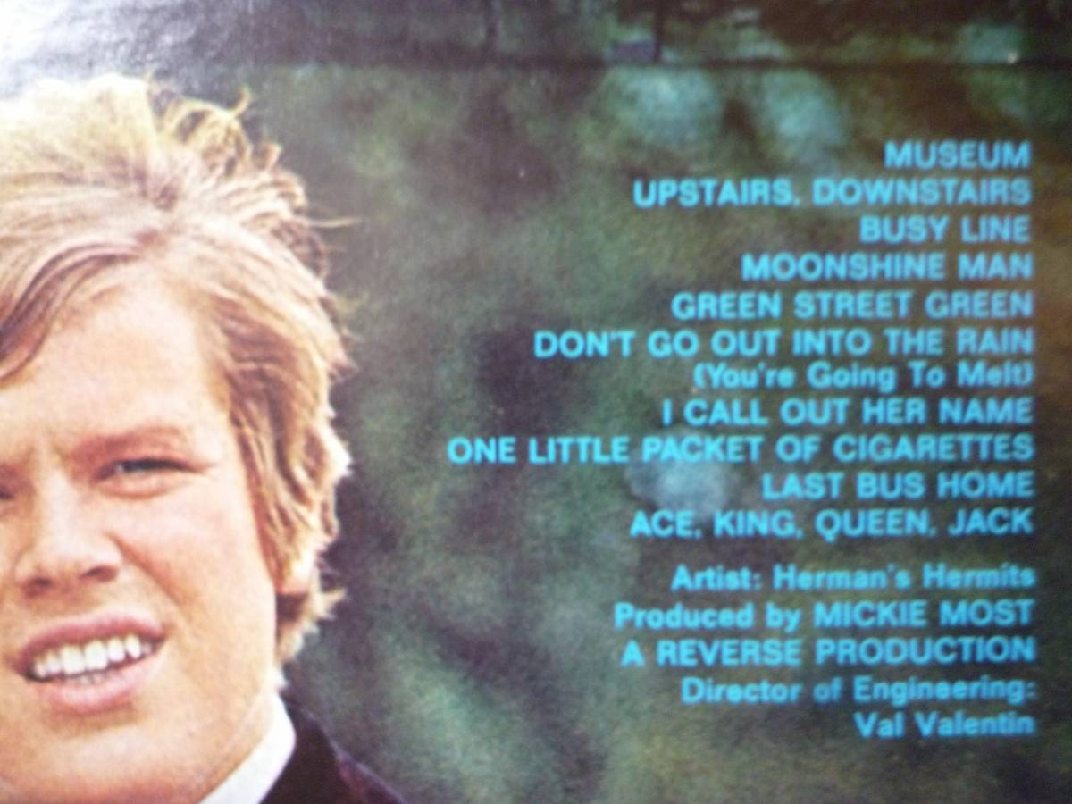 LP☆ Herman's Hermits Blaze ハーマンズ・ハーミッツ ☆Museum, Upstairs, Downstairs, Don't Go Out Into The Rain _画像3
