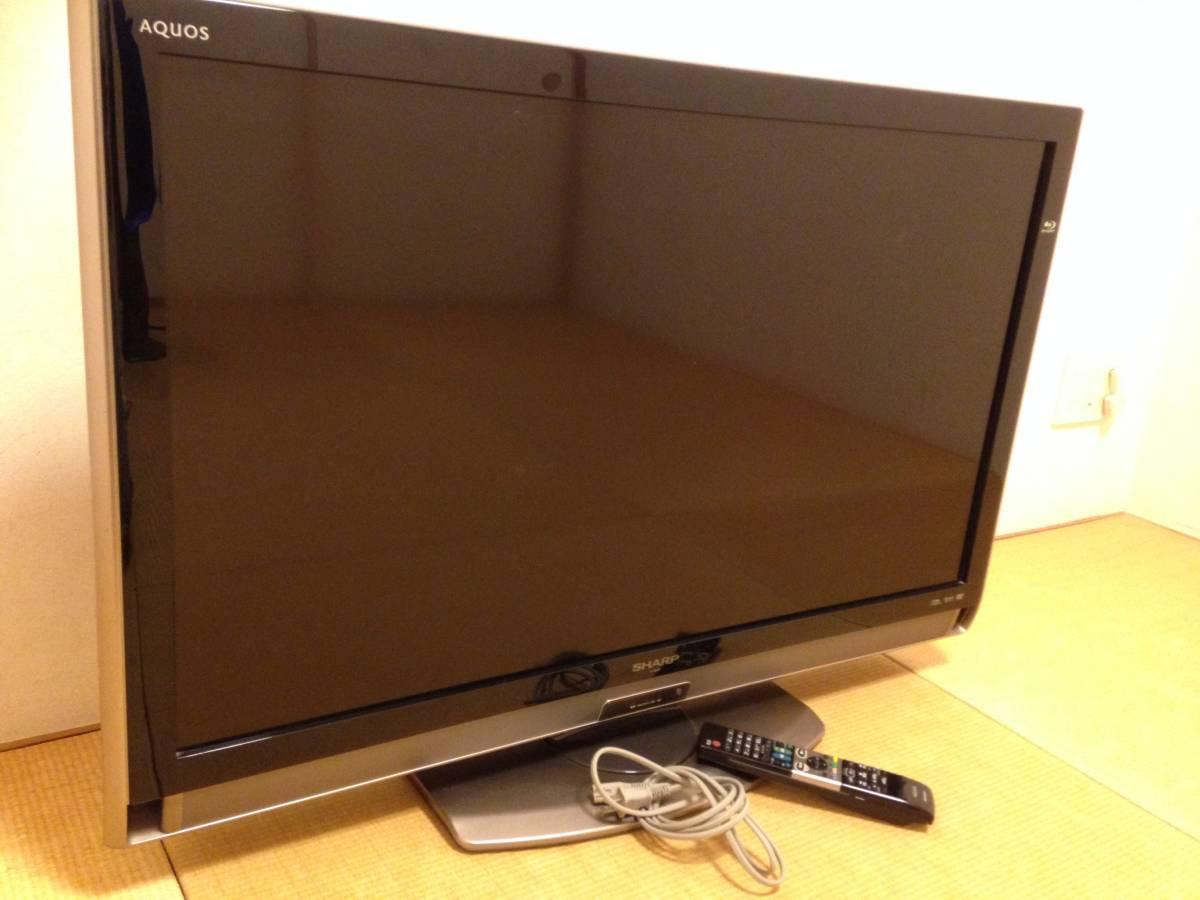 シャープ 40V型 液晶 テレビ AQUOS LC-40DX3-B フルハイビジョン ブルーレイレコーダー内蔵 ブラック SHARP アクオス 40型 リモコン付き
