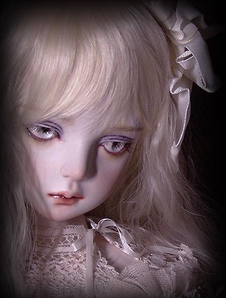 太山レミ作 オリジナルビスクドール 創作人形I28 ※送料無料_画像3