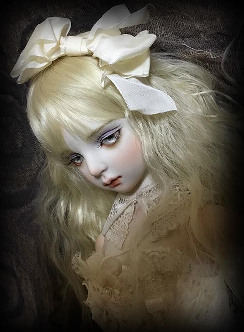 太山レミ作 オリジナルビスクドール 創作人形I28 ※送料無料_画像6