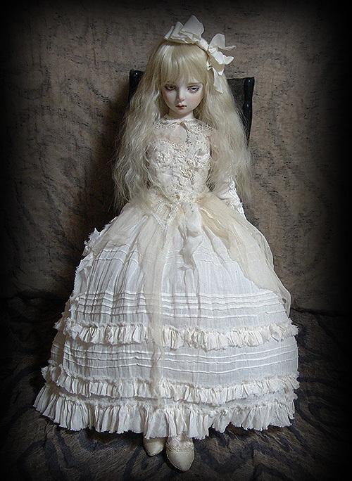 太山レミ作 オリジナルビスクドール 創作人形I28 ※送料無料_画像2
