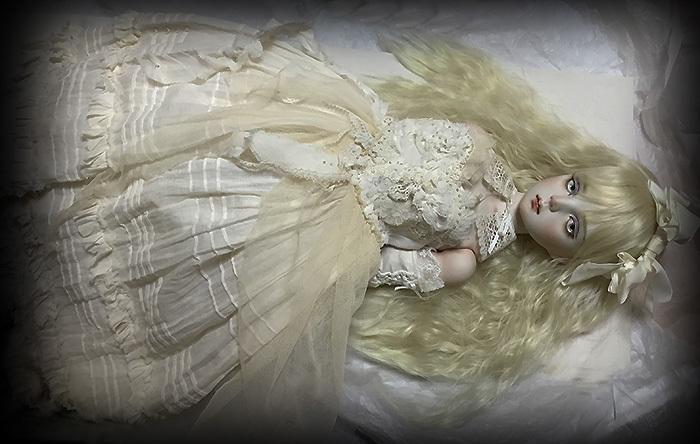 太山レミ作 オリジナルビスクドール 創作人形I28 ※送料無料_画像4