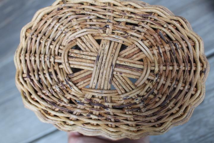 【山蔓 花籠 2個】編み 花器 花入 古民具 古道具_画像4