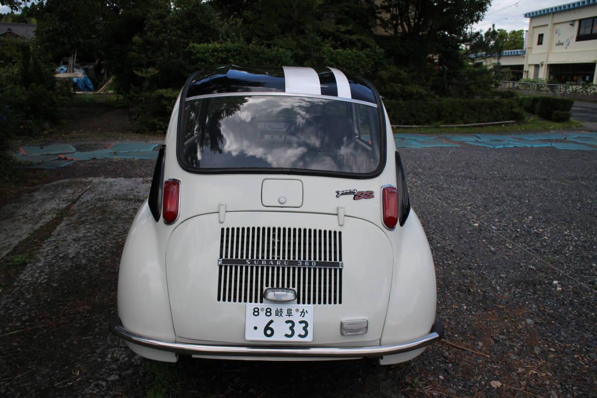 スバル360 ヤングSS 極上車 車検取得済 乗って帰れます!_画像2