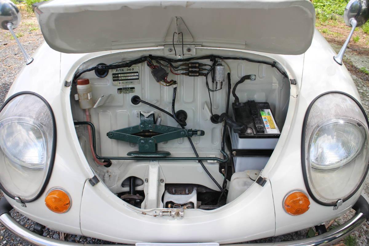 スバル360 ヤングSS 極上車 車検取得済 乗って帰れます!_画像5