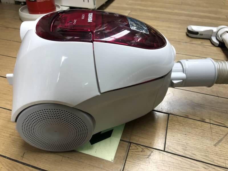 ○G5152 TOSHIBA 東芝 紙パック掃除機 VC-PD7A 2015年製○_画像2